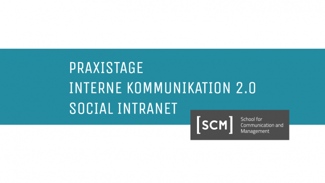 Highlights der SCM Praxistage 2018 in Frankfurt