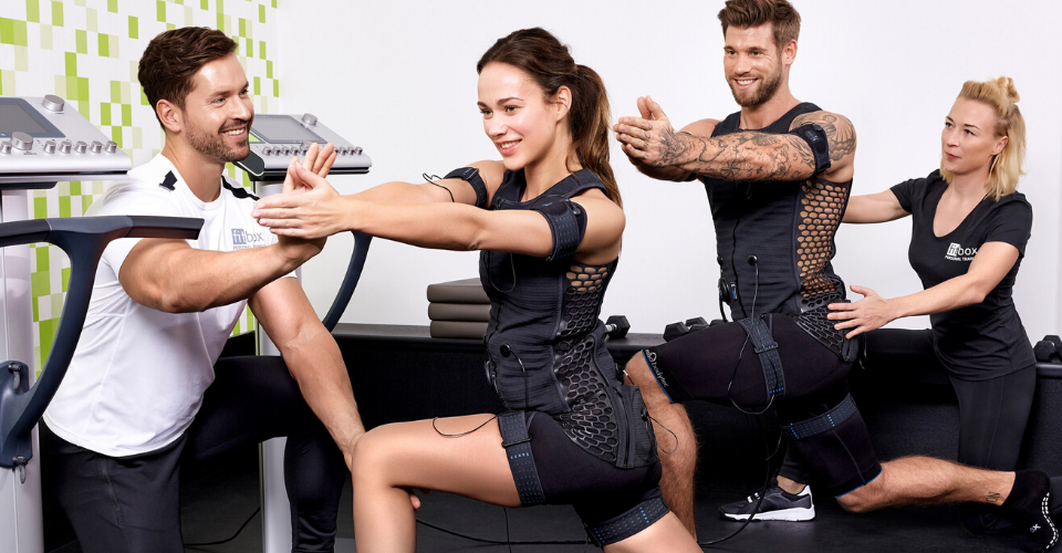 EMS-Training bei Fitbox