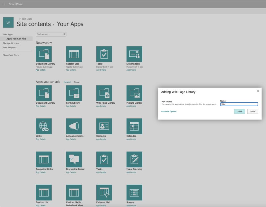 Funktionen von SharePoint